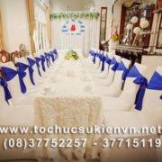 Cho thuê bàn ghế tiệc cưới