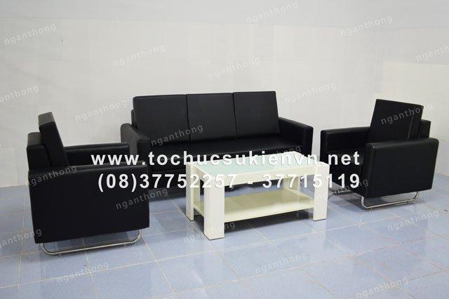 cho thuê bàn ghế sofa